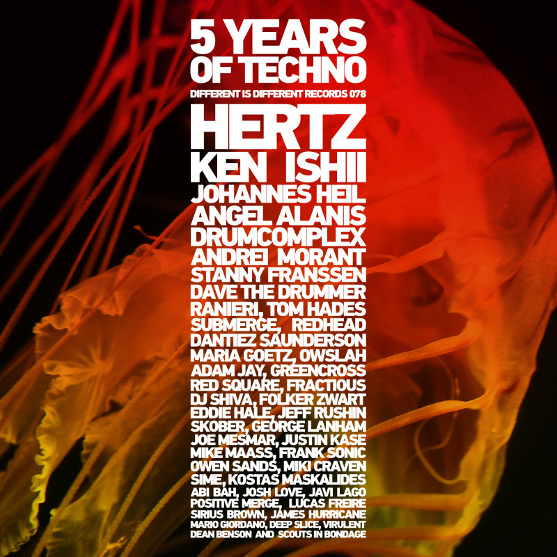 Various Artists - 5 Years Of Techno