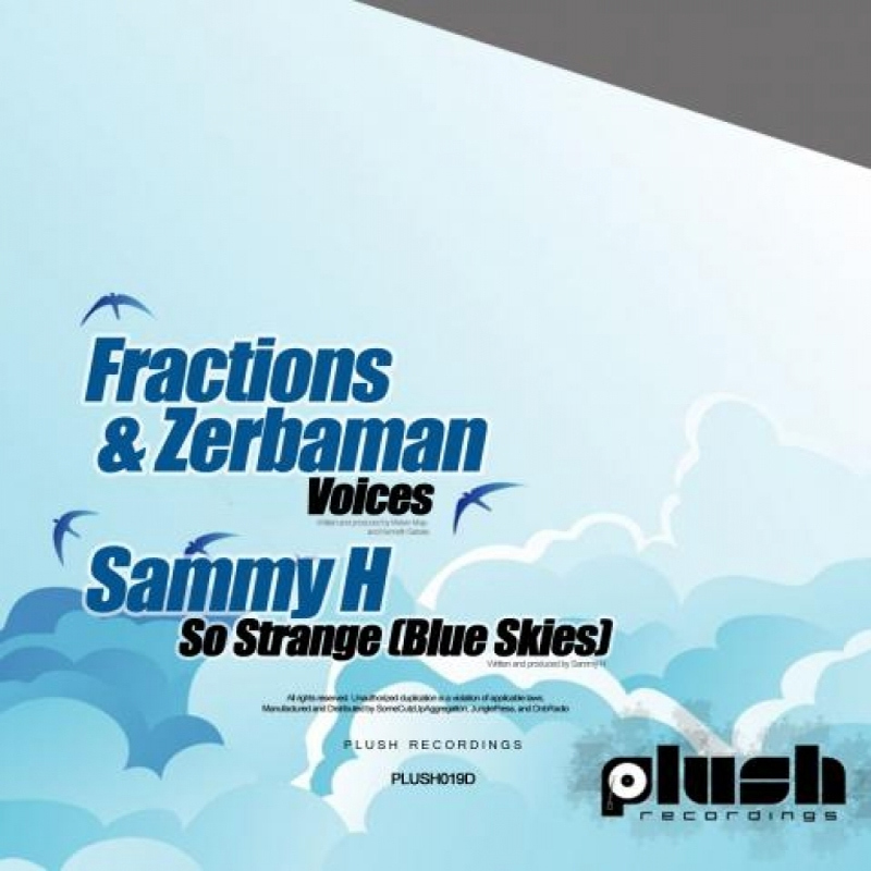 Fractions and Zerbaman, Sammy H - Voices / So Strange (Blue Skies)