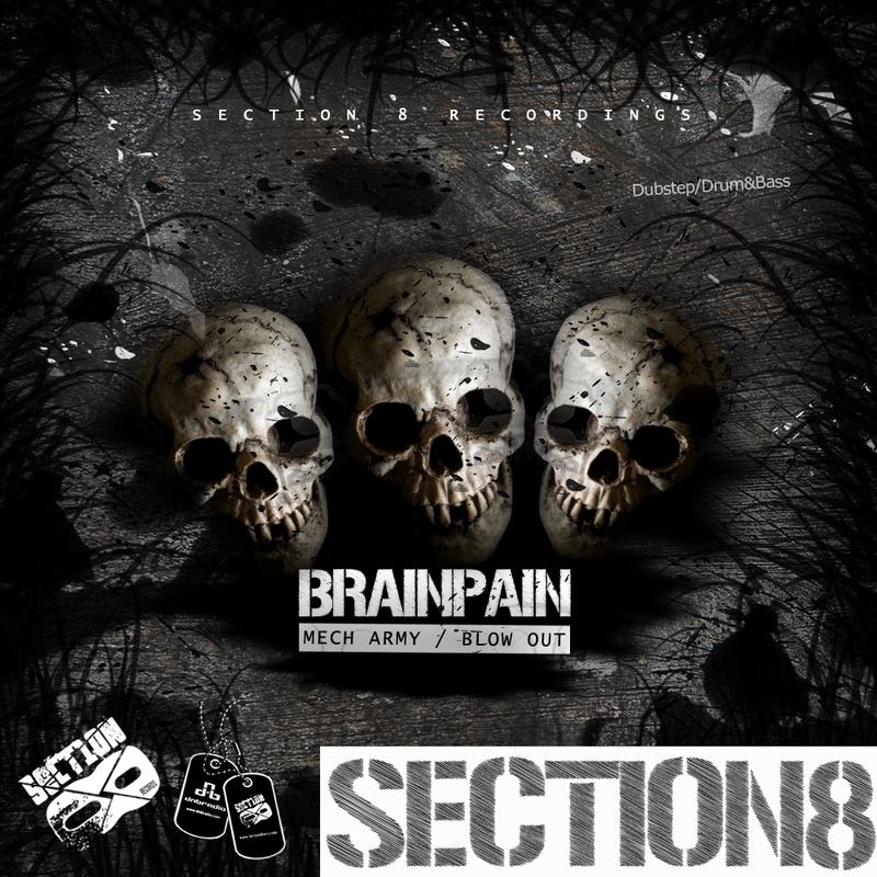 Brainpain - Mech Army / Blow Out